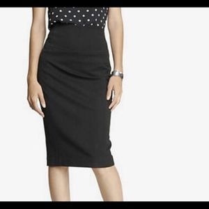 Express Pencil skirt with zipper in back